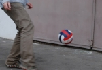 Одно касание, игра с мячом